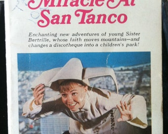 Vintage Paperback Ace G702 The Flying Nun: Miracle at San Tanco by William Johnson VG- TVTI