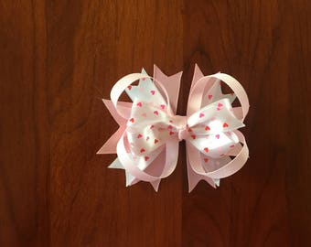 Light Pink Valentine Boutique Bow