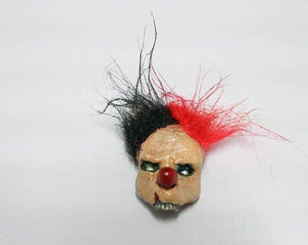 Duality Zombie Clown Magnet
