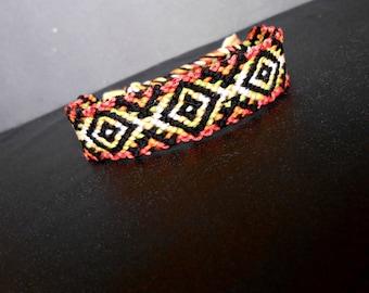 Bracelet patterns Aztec tie, 6 colors
