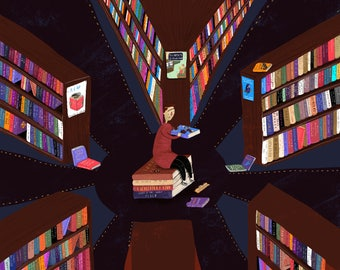 books in the belly