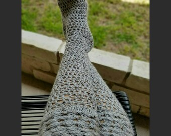 Crochet PATTERN - Chunky Boot Sock Versatile Design, slouch or tall, comfy & stylish - INSTANT download! Pdf - Great DIY gift!