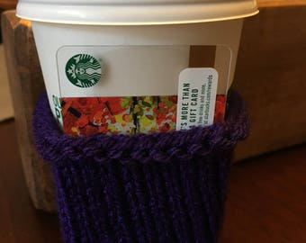 Coffee cup cozy
