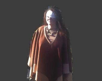 Custom Poncho Fleece Poncho boho poncho hippie poncho mens poncho summer poncho poncho women festival poncho tribal poncho hooded poncho
