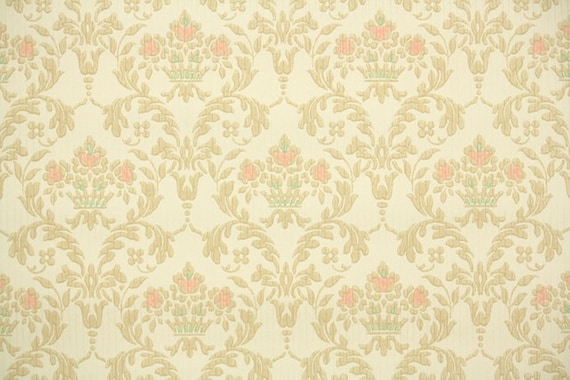 1930s Vintage Wallpaper By The Yard Antique Victorian Style