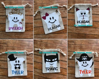 Personalized Tooth Fairy Bag, Tooth Fairy Bag, Tooth Fairy Pillow, Tooth Fairy Pouch, Tooth Fairy Sack, Tooth Holder