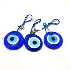 3 Pcs Evil Eye Bead Turkish Evileye Bead  Wedding Gift Protective Wall  Hanging