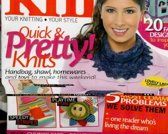 Let's Knit Knitting Magazine Issue 39 February 2011