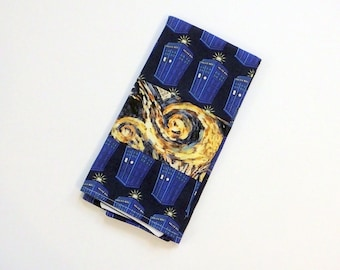 Doctor Who Tardis Dish Towel