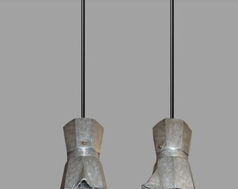 Chandelier Moka, chandelier Neapolitan coffee maker, reuse Moka, ceiling light with Moka coffee maker, chandelier Italian design