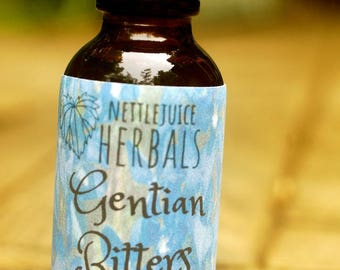 Gentian Bitters, two ounce