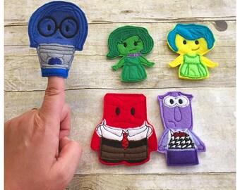 Feelings Finger Puppet Set