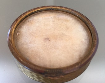 Pretty Little Powder Box by Peguy c 1930