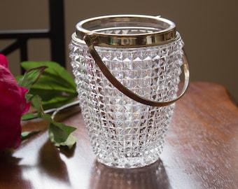 Genuine Lead Crystal Ice Bucket