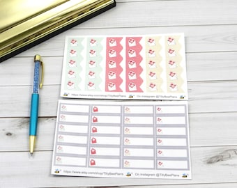 Happy Mail Planner Stickers // ECLP // TN // Happy Planner // Plum Paper Planner // Recollections