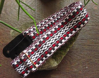 Hand Woven Guitar Strap