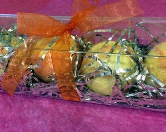 4 Piece Bath Bomb Gift Set - Citrus Mimosa