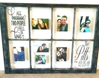Picture frame window