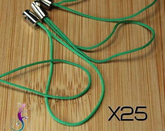 25 straps green strap for bag or smartphone A118 jewelry