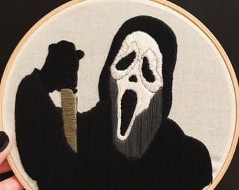 "Scream - Ghostface - 7"" Hoop"