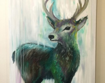 Prismatic Stag