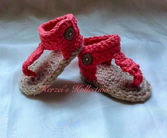 Crochet Baby Gladiator Sandals Pattern Free Gallery Knitting
