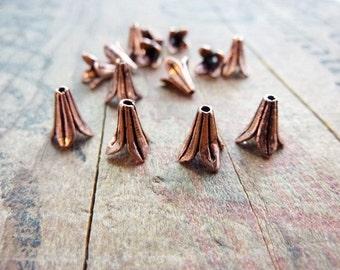 Bead Cap Copper Bead Cap Best Seller Petal Cap Cone (6) IC203