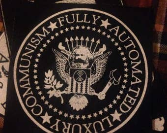 Fully Automated Luxury Communism Ramones Patch