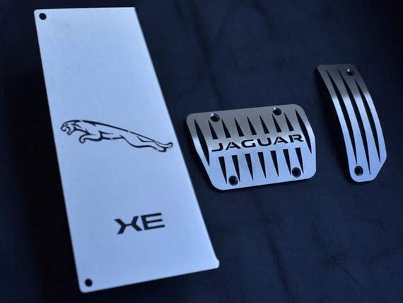 JAGUAR XE pedales y el reposapiés calidad hecha a mano