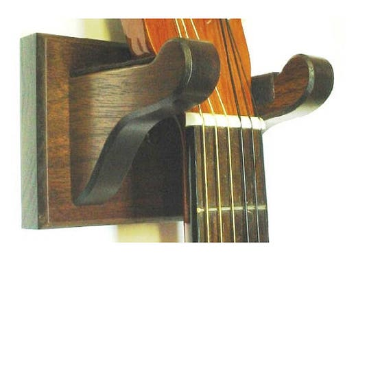 walnut wooden guitar banjo ukulele wall mount stringed. Black Bedroom Furniture Sets. Home Design Ideas