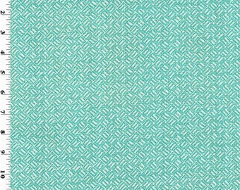 Turquoise Basket Texture Print Home Decorating Fabric, Fabric By The Yard