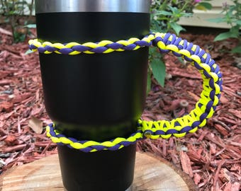 Homemade Paracord Cup Handle