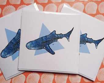 Whale Shark Gift Cards 3 in a pack!
