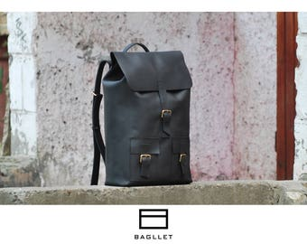 Leather Backpack P003, Handmade backpack, women leather backpack, hipster backpack, leather backpack men, mens backpack, laptop backpack