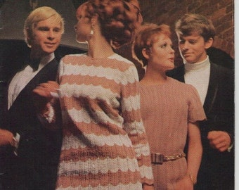 ON SALE ON Sale - Paton's Women's Cardigan, Jumper, Skirt, Dress Knitting Pattern Book No 872 Vintage 1970s