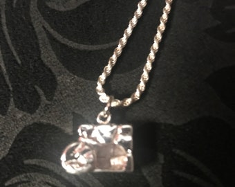 Empty Tomb Pendant and necklace