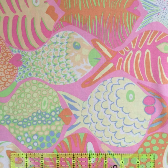 SHOAL PINK PWBM051.PINKX Brandon Mably Kaffe Fassett Collective Sold in 1/2 yd increments