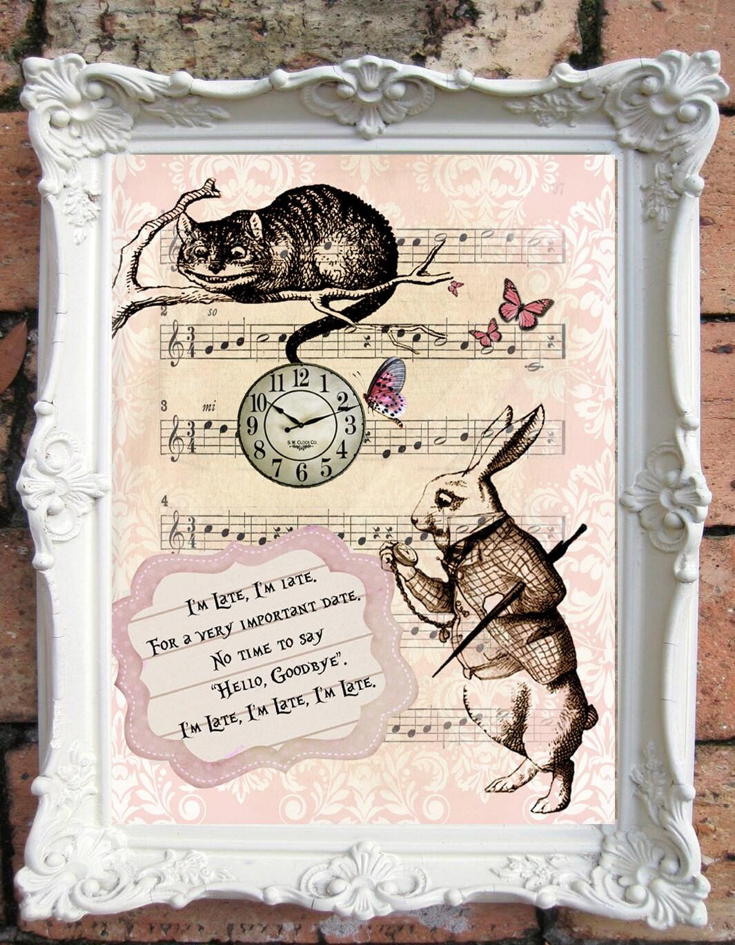 Alice In Wonderland Quote Alice In Wonderland Wedding Alice In Wonderland Decor Alice In