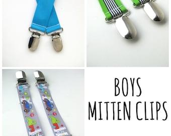 MITTEN CLIPS for Children - Mitt Clips for Kids - Gift For Kids - Toddler Mitten Clips - Glove Clips for Kids - Sleeve Clip - Mitt String