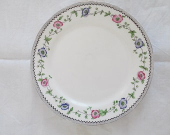 Bone china porcelain small plate Aynsley England numbered