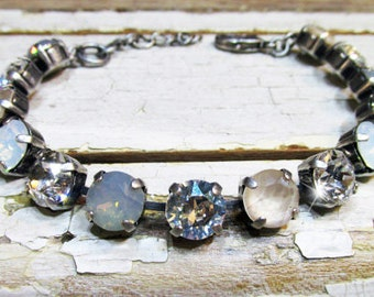 Winter Moonlight Serenade Swarovski Crystal Bracelet