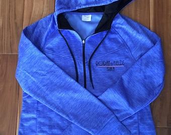 Rodan + Fields personalized embroidered zip up Sweatshirt hoodie