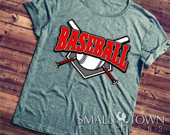 Baseball, DXF, Eps, SVG, Psd Files - Screen Printing, Silhouette, Quote - Saying SVG, Die Cut Machines, & More