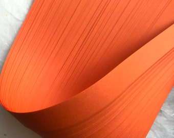 Orange~ Weaving Star Paper (50 strips)
