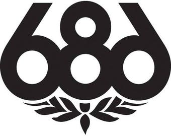 686 Clothing Die-Cut Decal