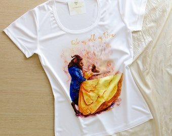 Tale as old as time, Dance of Beauty and the Beast, Women's T-shirt by Takila