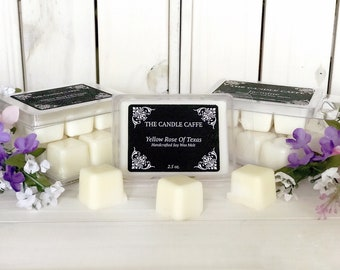Handcrafted soy wax melts, tarts cubes