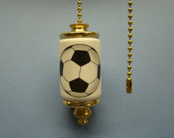 Soccerball Fan & Light ceiling fan pull chain, light pull chain