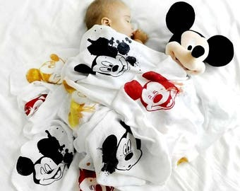 The Main Mouse - Muslin Blanket