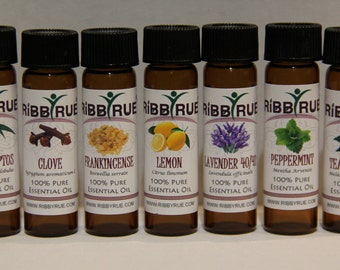 8ml (2 Dram) - 100% Pure Essential Oils Set Lot Kit Free Ship